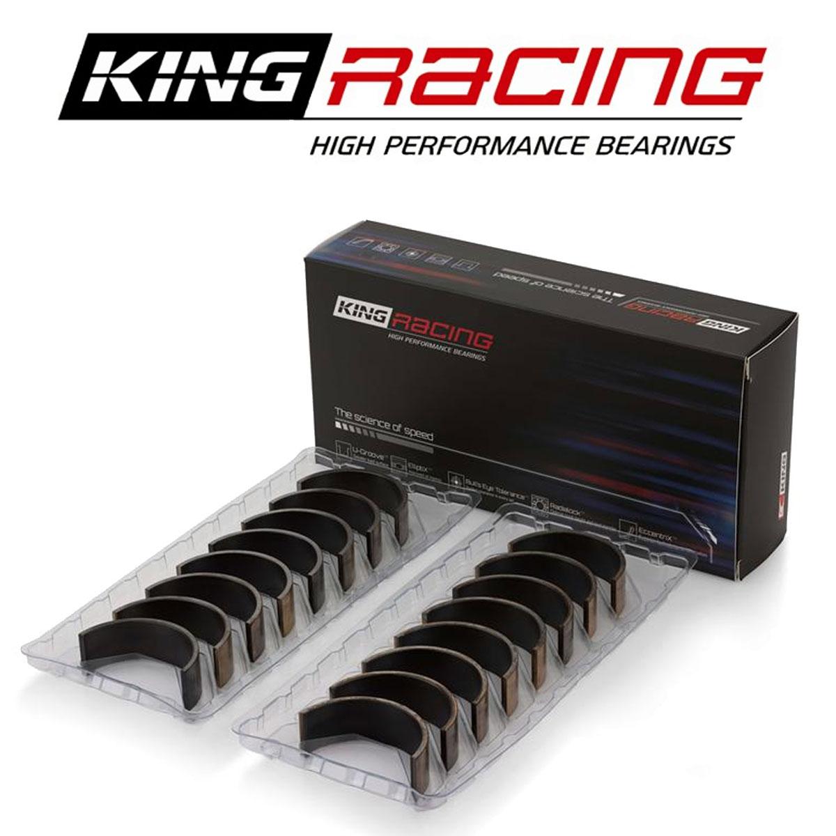King Race Rod Bearings for Subaru EJ20 EJ22 EJ25 Impreza WRX STI CR4125XPGSTDX