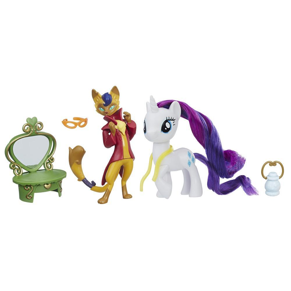 My Little Pony: The Movie Rarity & Capper Dapperpaws Styling