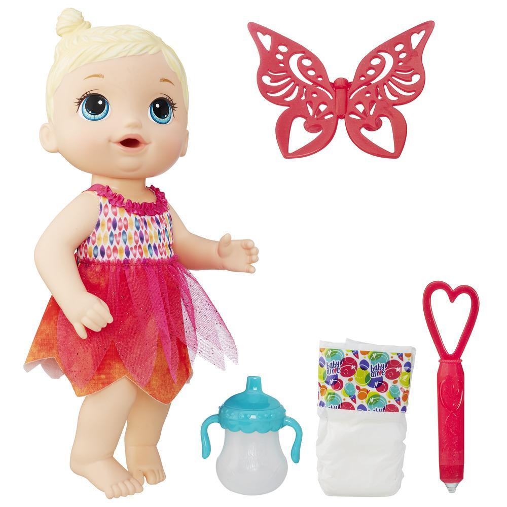 Baby Alive Face Paint Fairy Blonde Hair 630509485796 Ebay