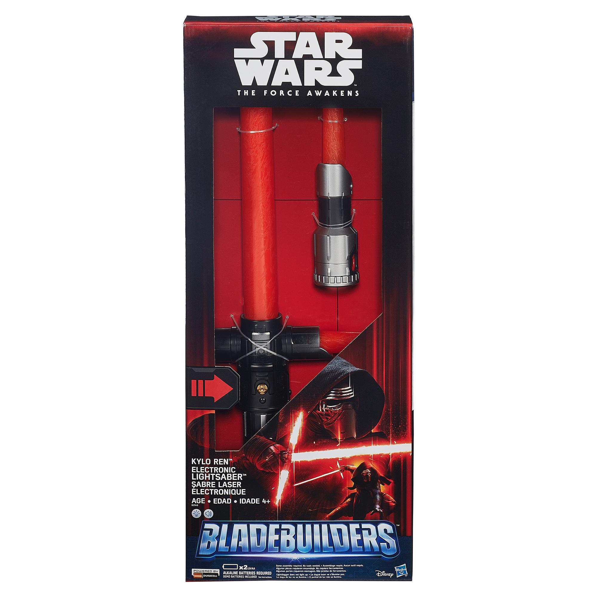 Star-Wars-The-Force-Awakens-Kylo-Ren-Deluxe-Electronic-Lightsaber thumbnail 2