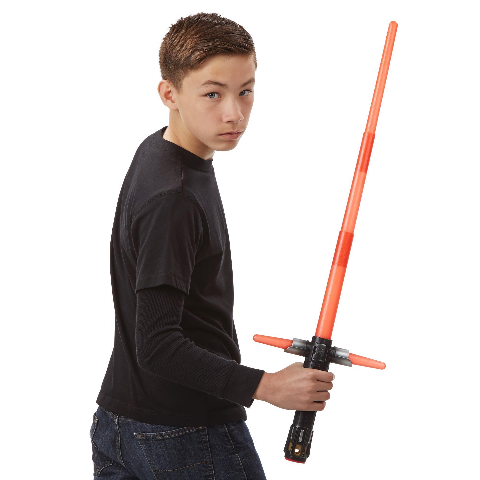 Star-Wars-The-Force-Awakens-Kylo-Ren-Deluxe-Electronic-Lightsaber thumbnail 5