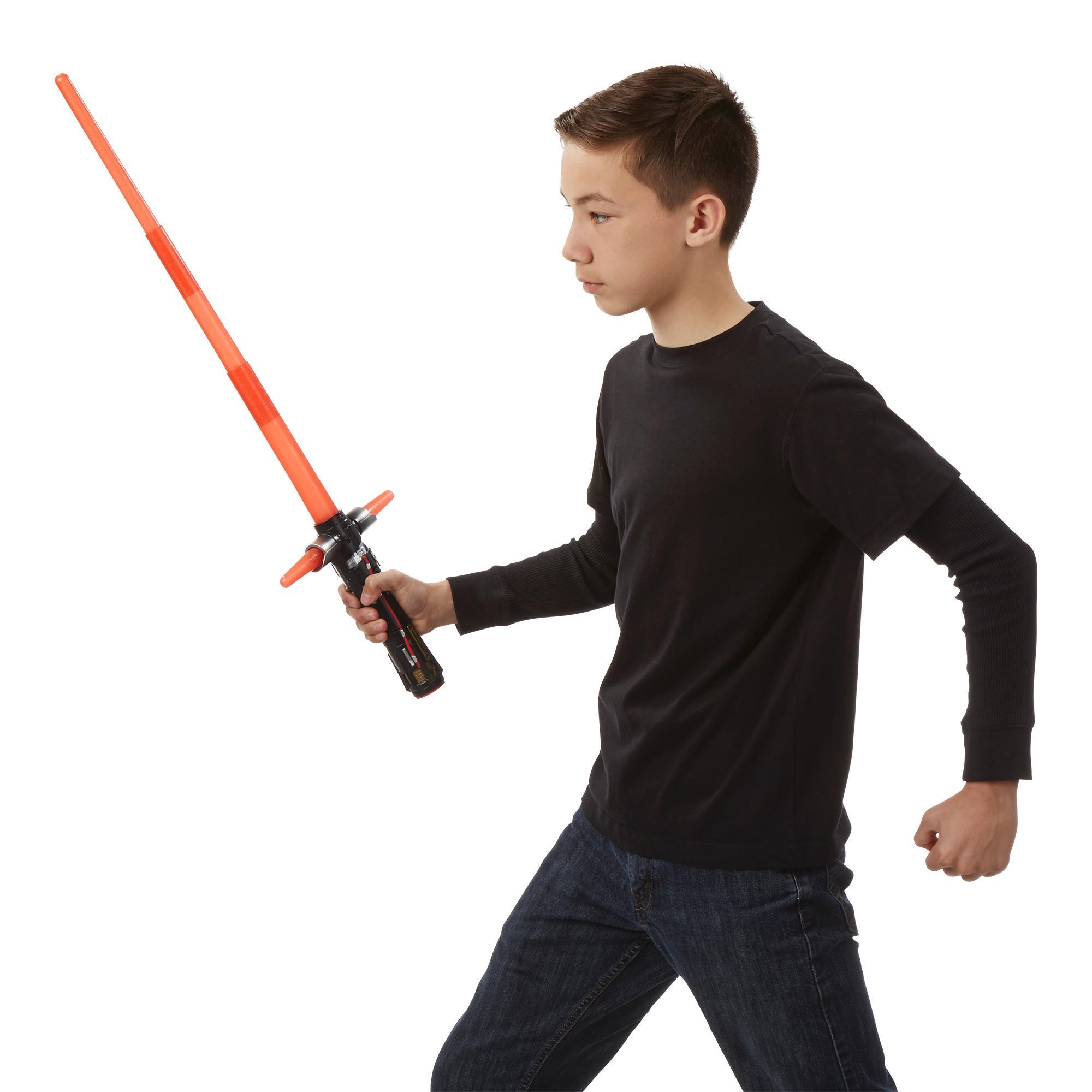 Star-Wars-The-Force-Awakens-Kylo-Ren-Deluxe-Electronic-Lightsaber thumbnail 6