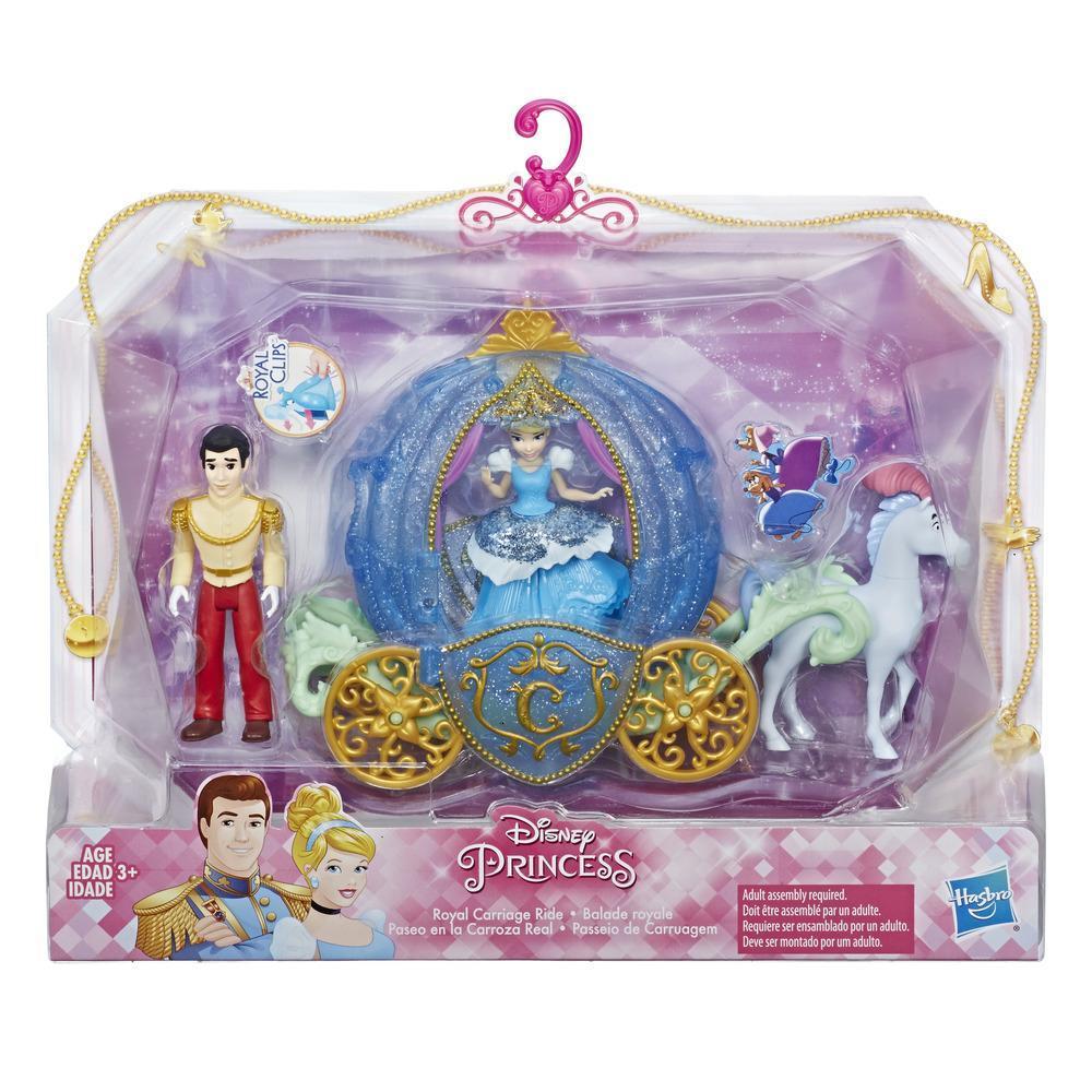 Disney Princess Royal Ball Cinderella Doll: Disney Princess Royal Carriage Ride, Cinderella And Prince