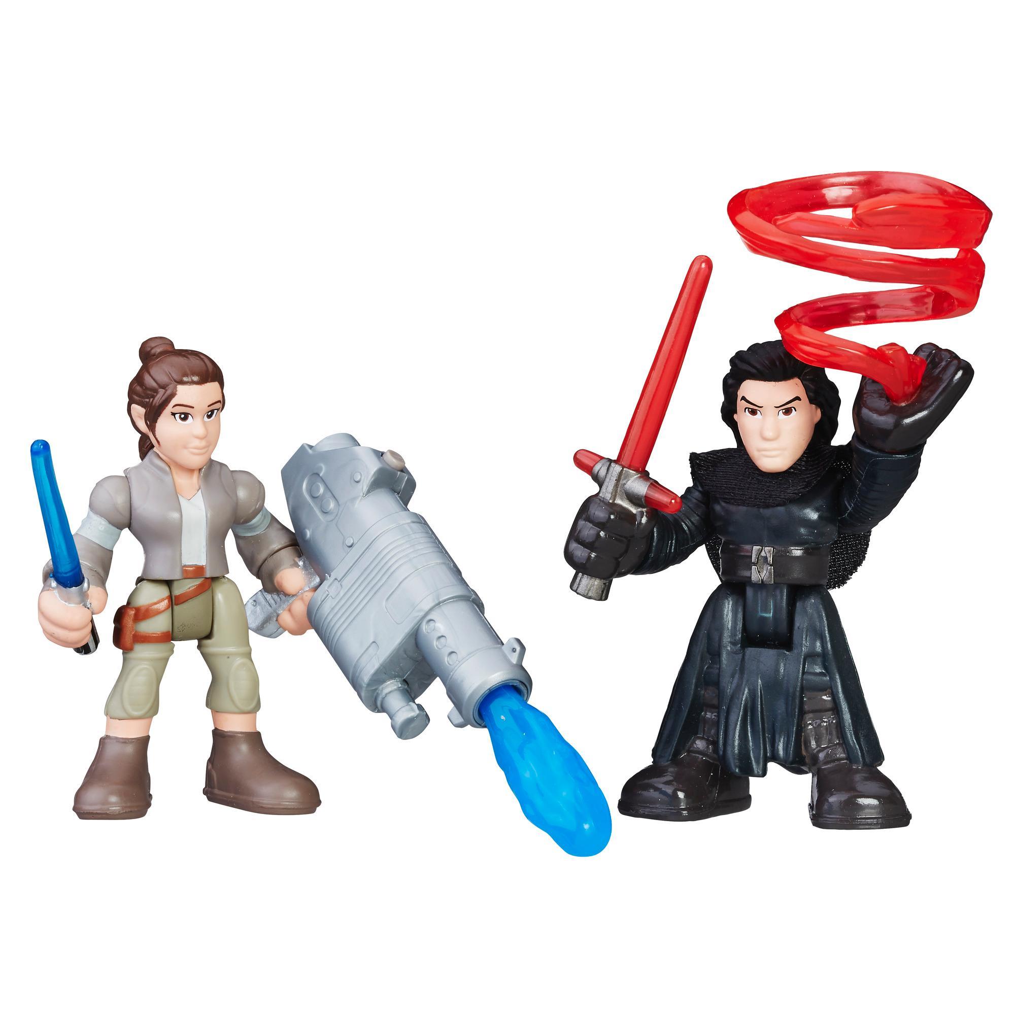Resistance Outfit /& Kylo Ren Disney Star Wars Galactic Heroes Ray