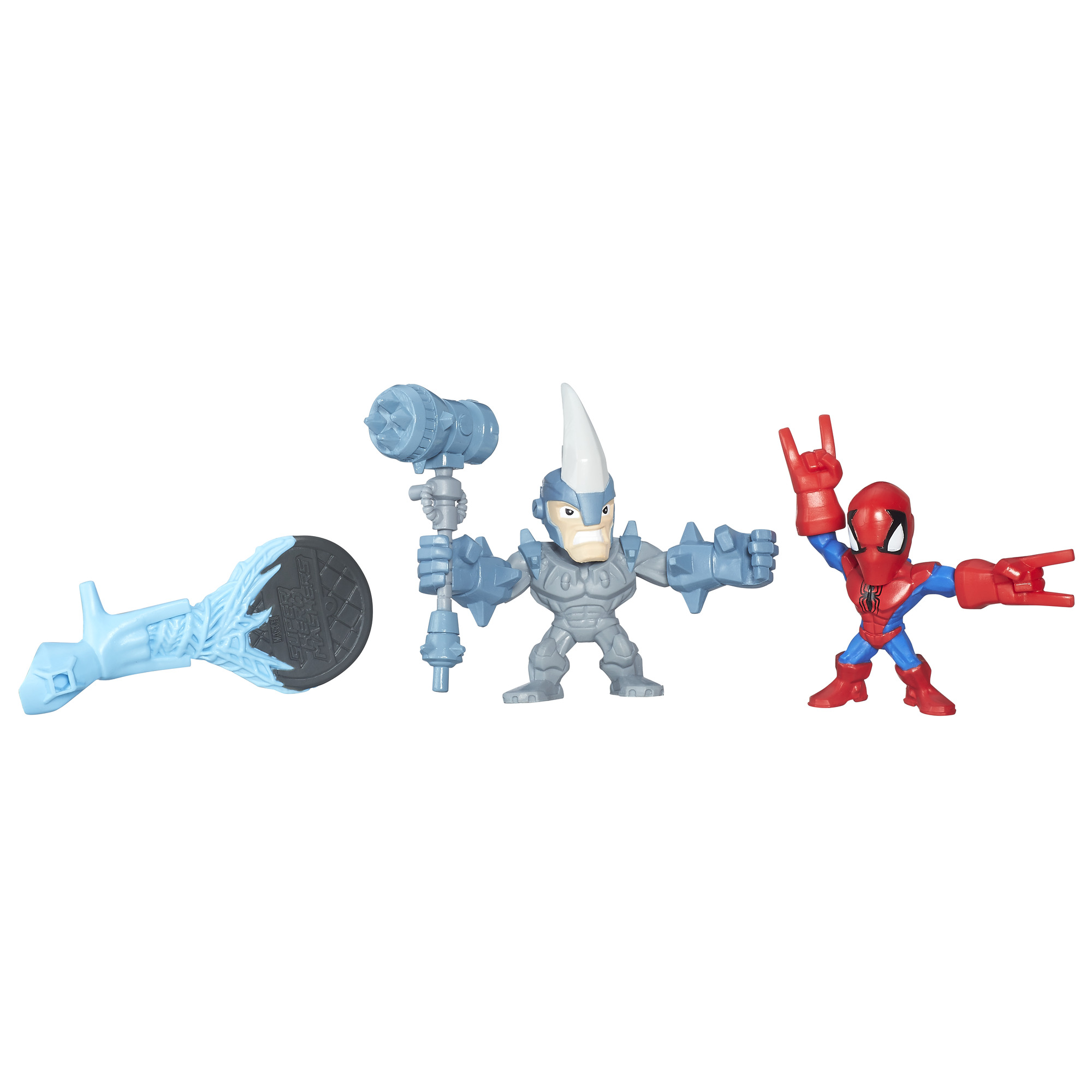 Marvel Super Hero Mashers Micro Spider-Man 2099 and Venom Action Figures 2 Pack