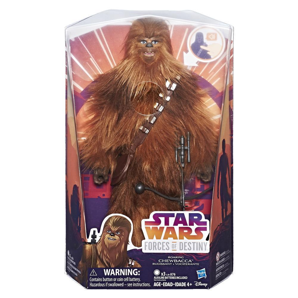 Star-Wars-Forces-of-Destiny-Roaring-Chewbacca-Adventure-Figure thumbnail 2
