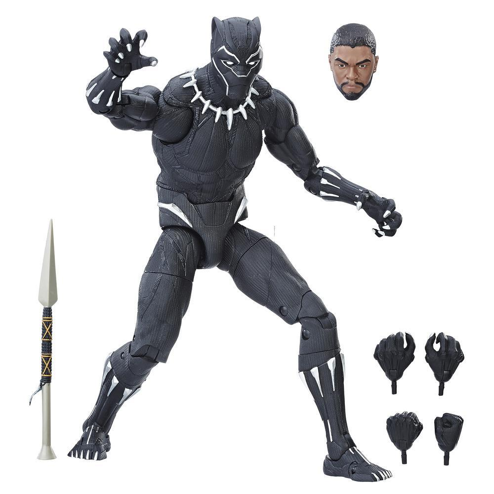 """Styles May Vary Legends Series 6/"""" Black Panther Figure Marvel"""