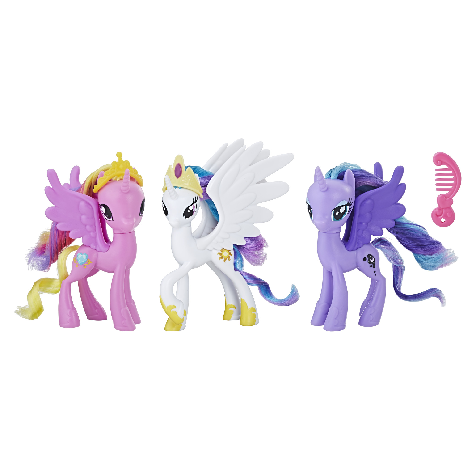 - My Little Pony Royal Ponies Of Equestria Figures 630509740901 EBay
