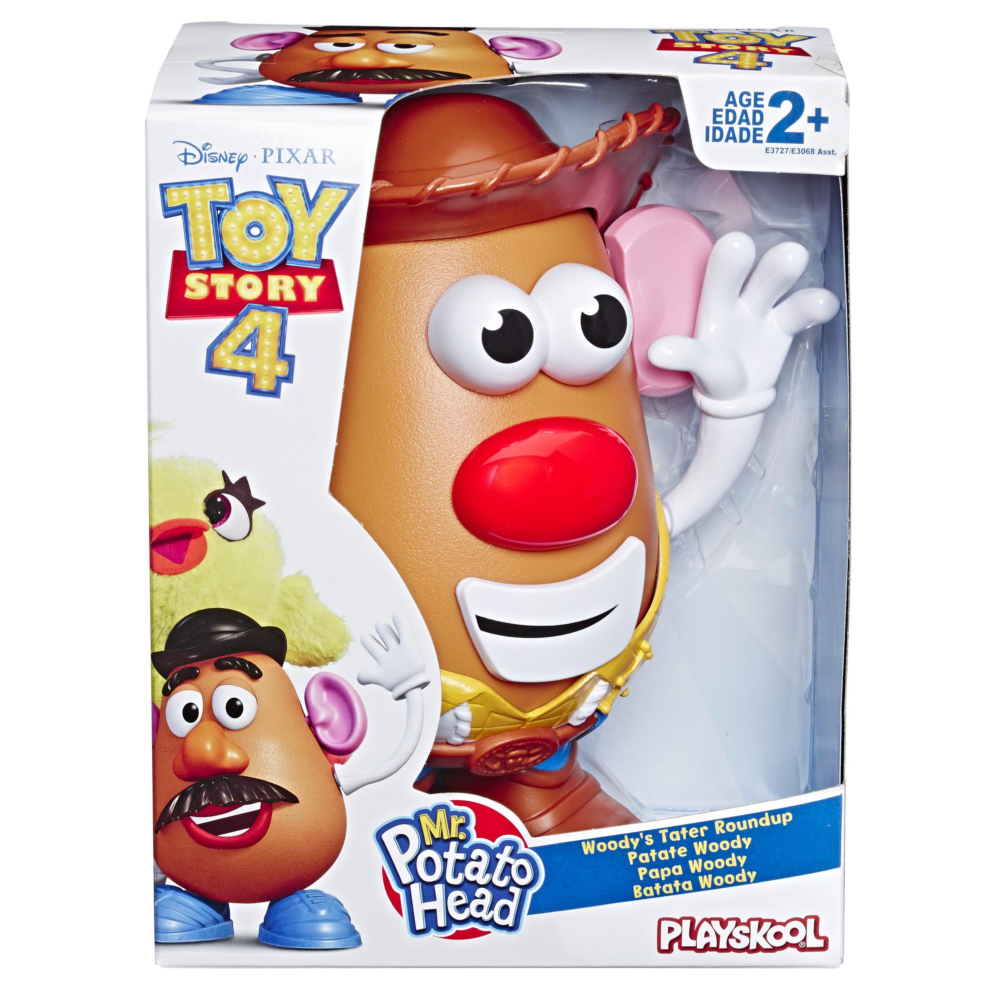 Mr Potato Head Disney Pixar Toy Story 4 Woody S Tater Roundup Figure 630509747139 Ebay