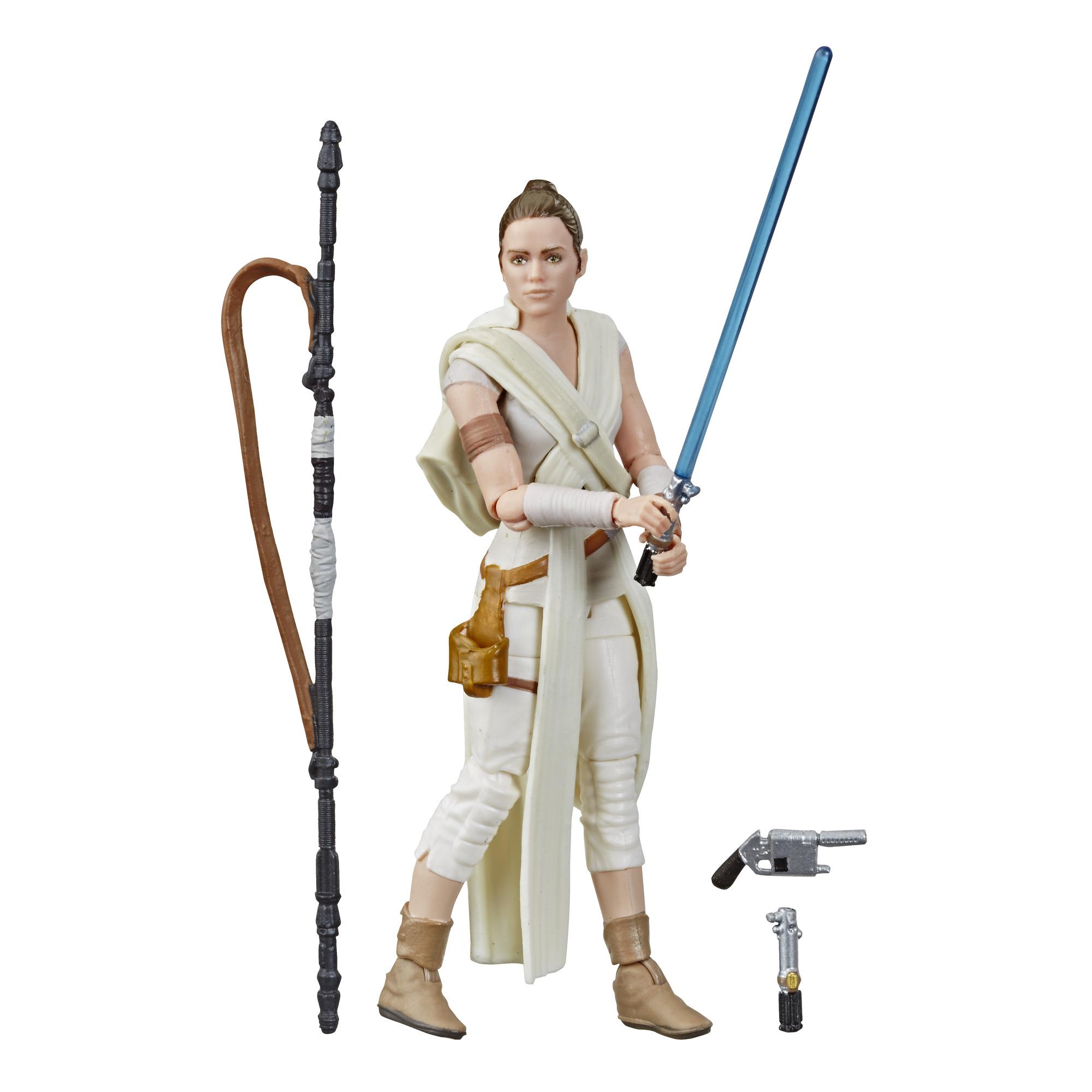 Star Wars The Rise of Skywalker REY Vintage Custom Carded 3.75 Action Figure