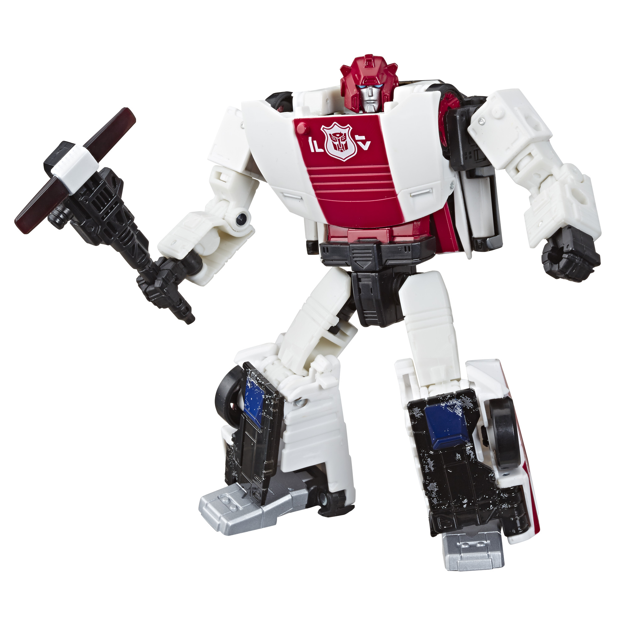 TRANSFORMERS WAR FOR CYBERTRON SIEGE DELUXE RED ALERT In stock