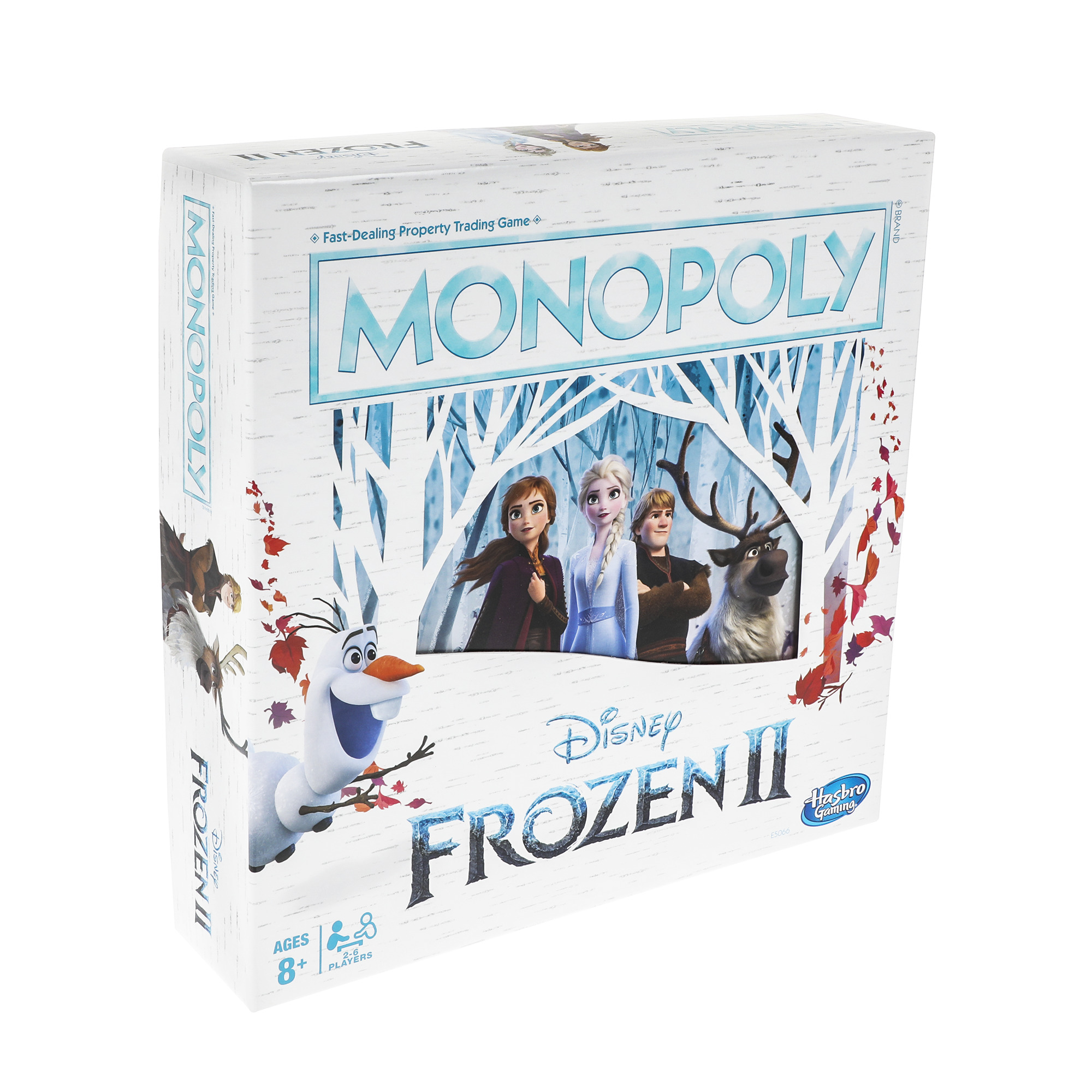 Monopoly Game Disney Frozen 2 Edition Board Game for Ages 8 and Up Brand New