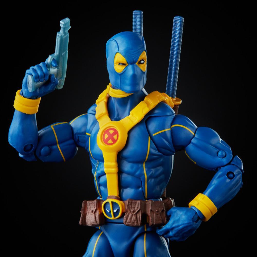 Hasbro Marvel Legends Series Deadpool Collection 6-inch Blue Deadpool Action Fig