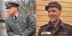 ELVIS Presley Army Photo License Plate