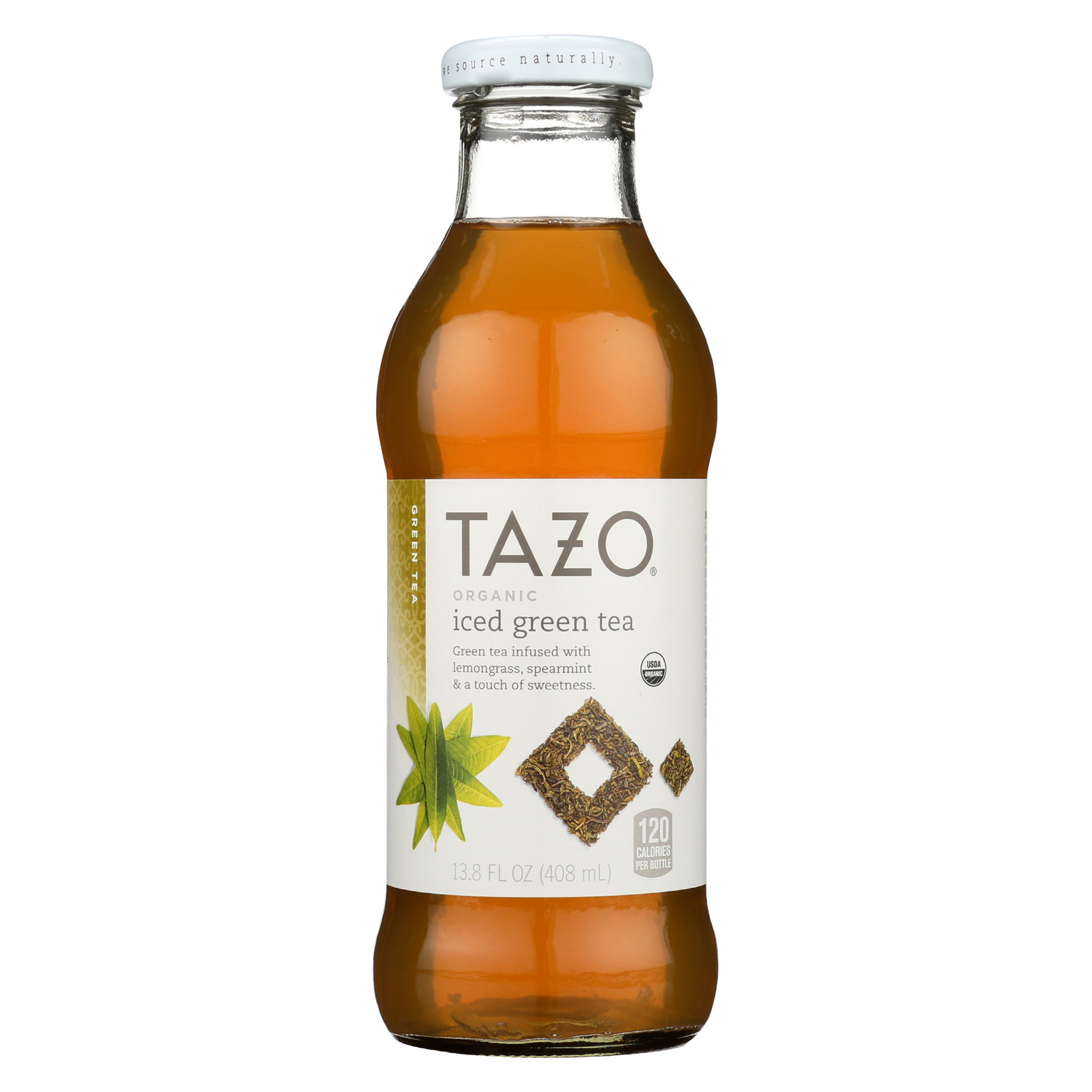 b3d3c4c062ff Details about Tazo Tea Organic Bottled Iced Tea - Green Tea - Case of 12 -  13.8 fl oz