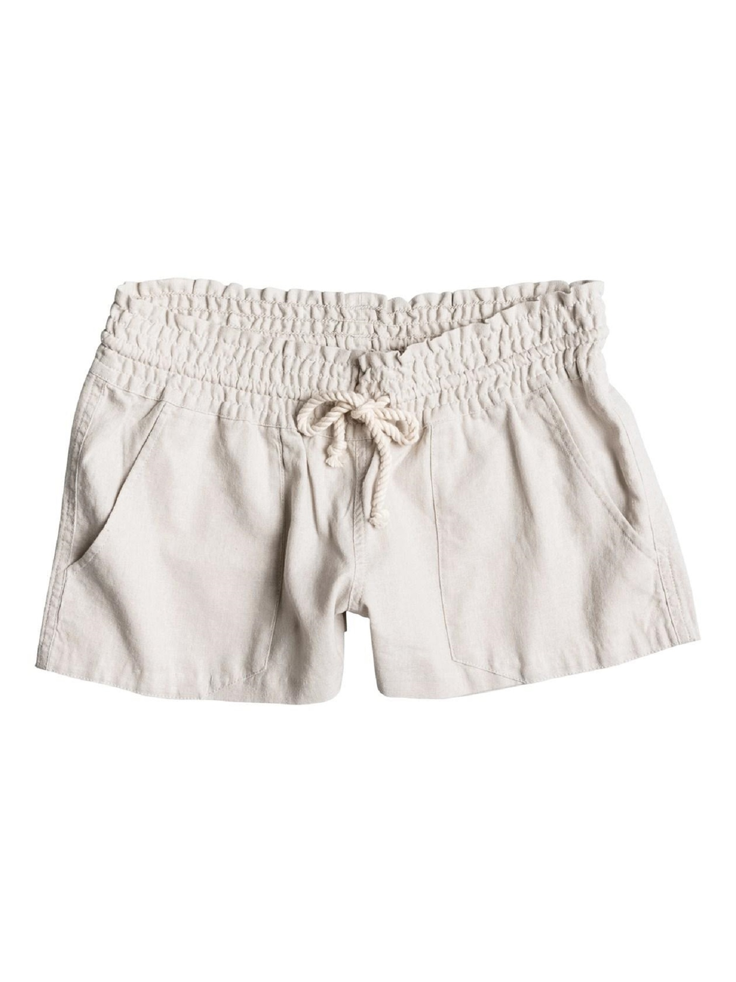 9f4f052d47 Roxy Women's Oceanside Shorts M Stone 888701270553   eBay