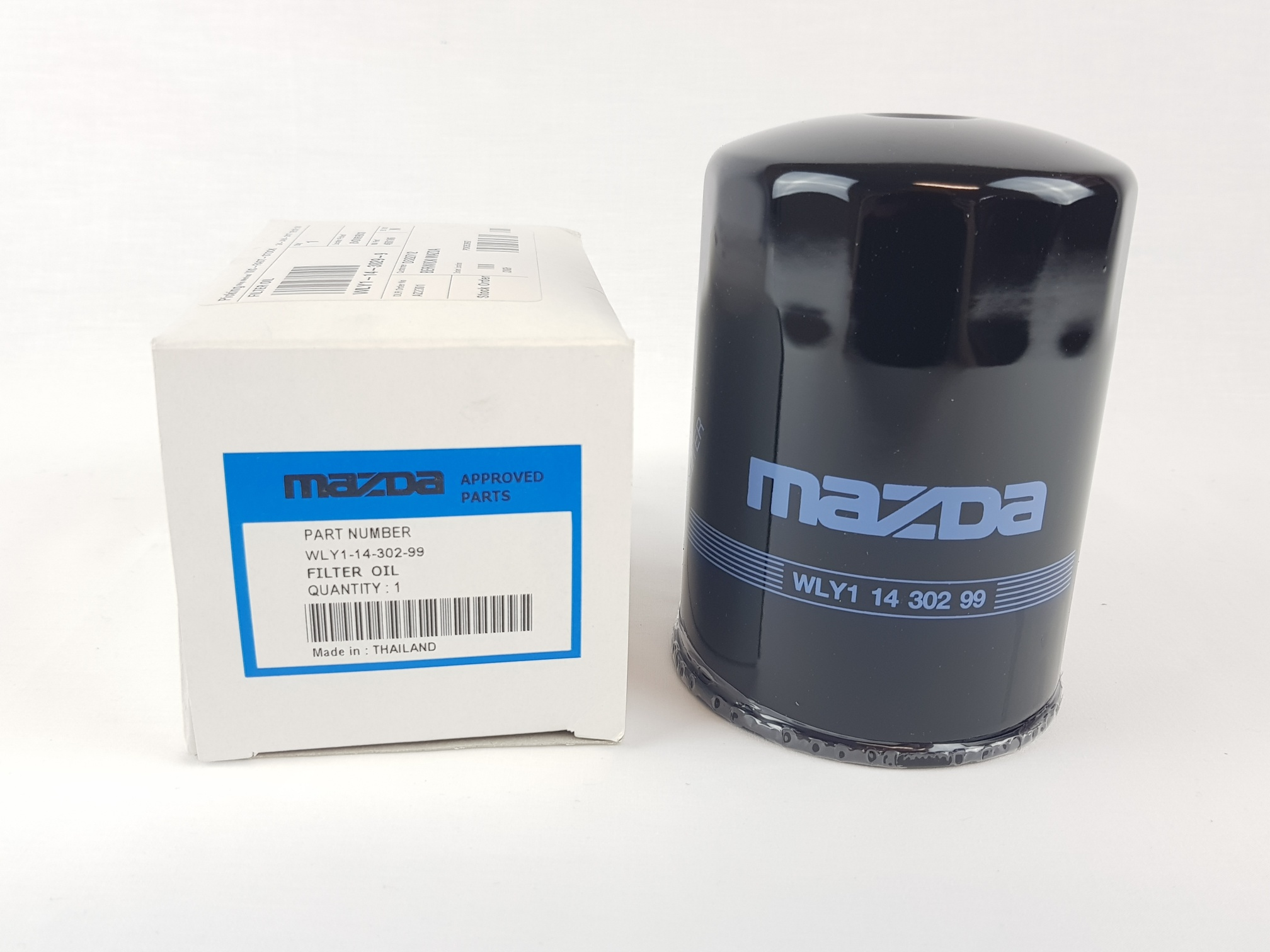 New Genuine Mazda B2500 Un Engine Oil Filter Diesel Wly11430299 Ebay 1998