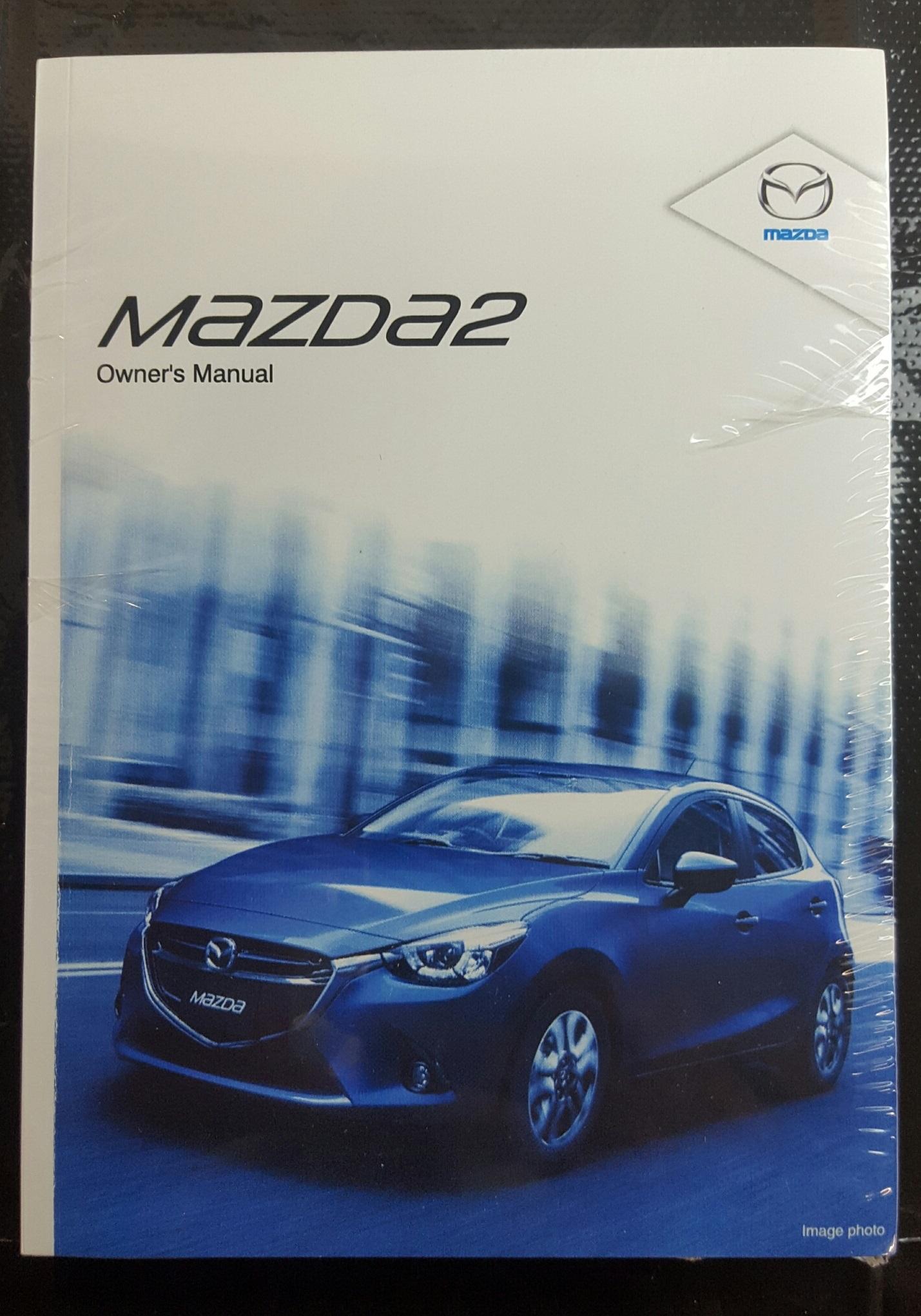 new genuine mazda 2 dj owners manual 8ec4 eo 14ht mazda2 2014 2016 rh ebay com au Mazda SUV Mazda SUV