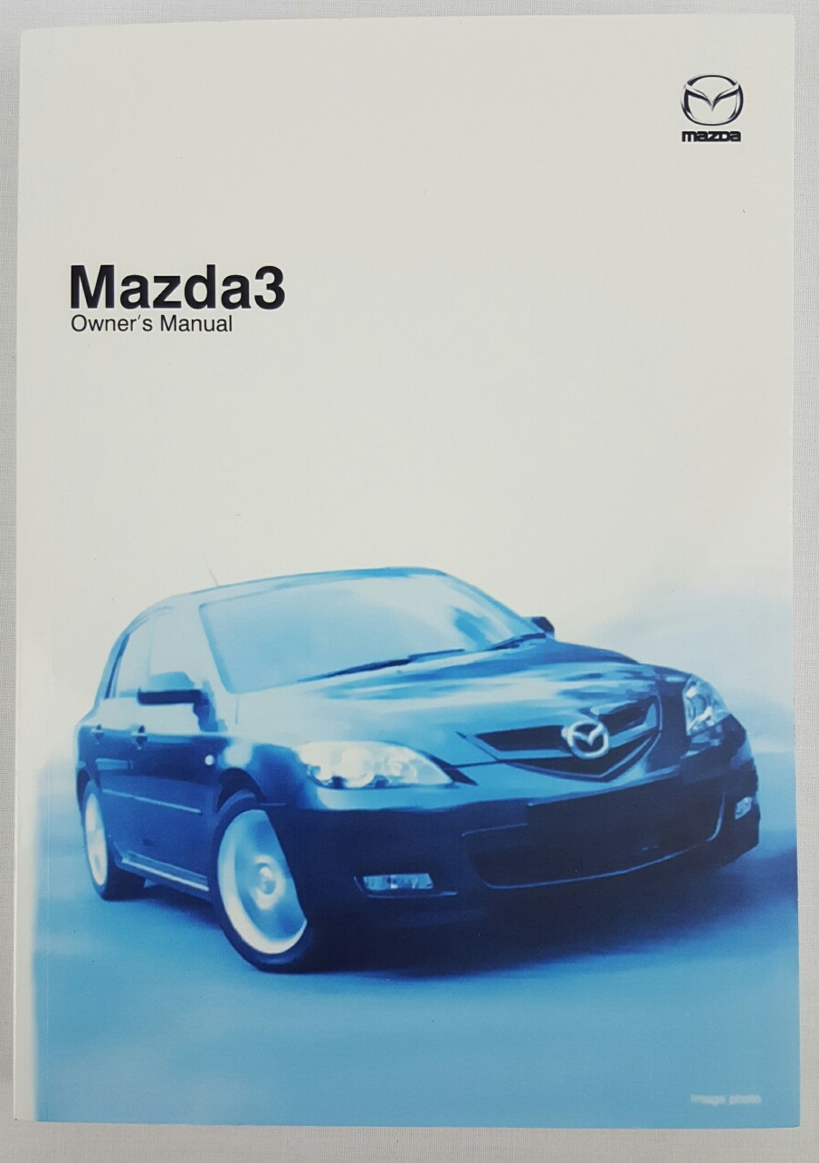 New Genuine Mazda 3 BK Series 2 Owners Manual Mazda3 2006 - 2008 8V51-EO-06E