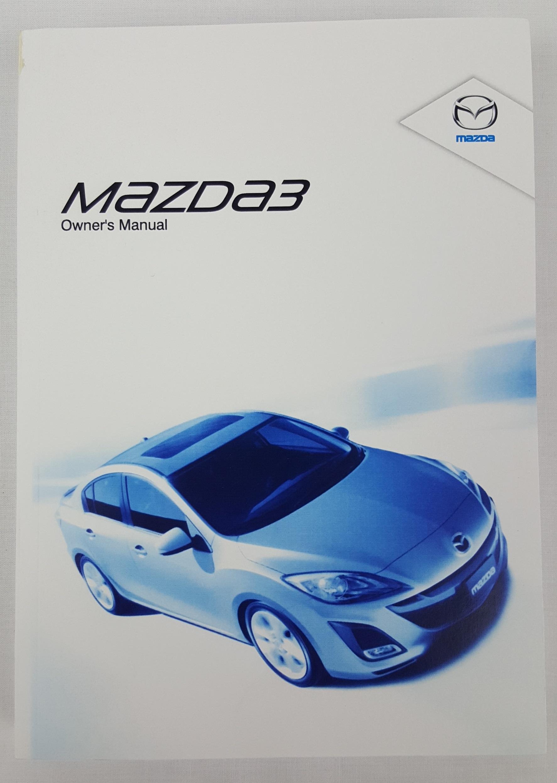new genuine mazda 3 bl series 2 owners manual mazda3 2011 2013 rh ebay com au mazda 3 2011 owners manual pdf mazda 3 2011 owners manual
