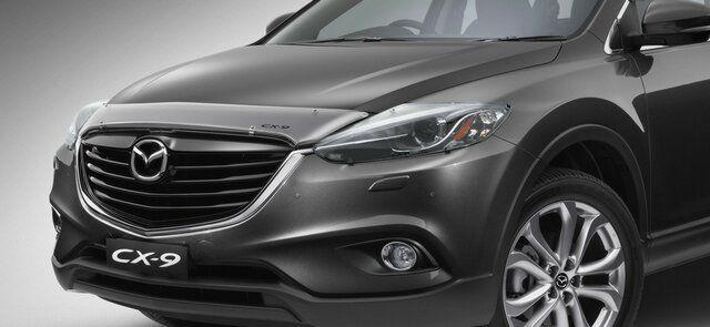 New Genuine Mazda CX 9 Clear Bonnet Protector CX9 2013   2016 TB15 AC BP