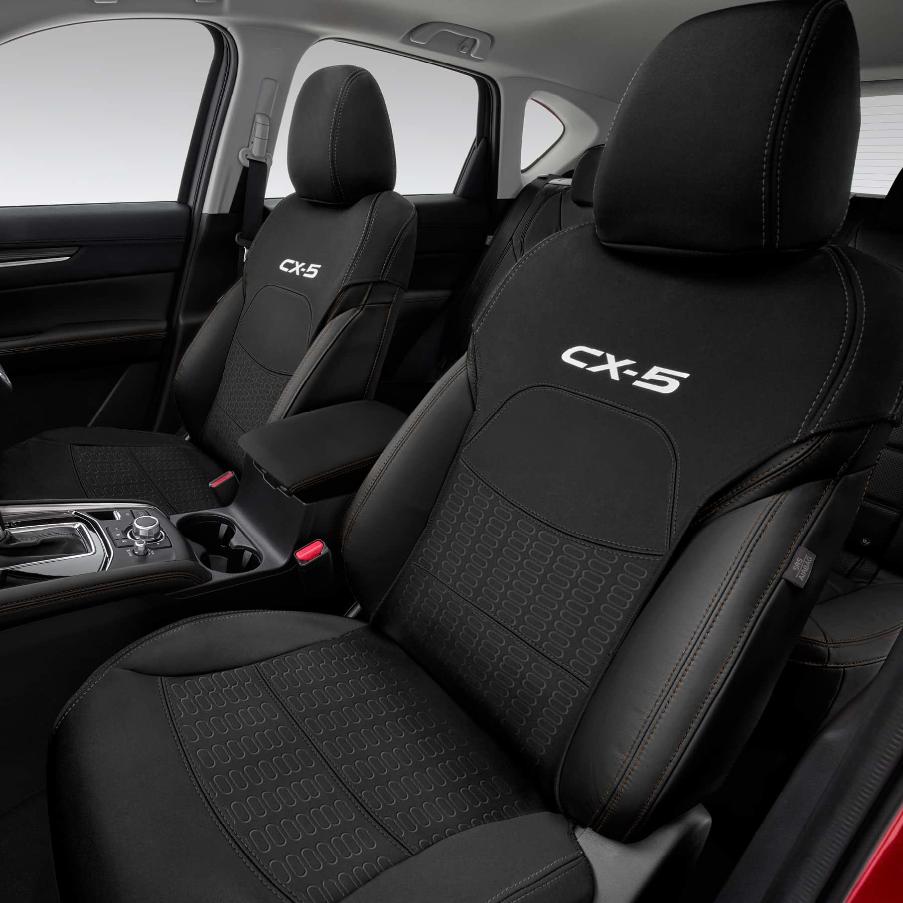 New Genuine Mazda Set Of 2 KF CX 5 Front Seat Covers Neoprene CX5 KF11ACSCF