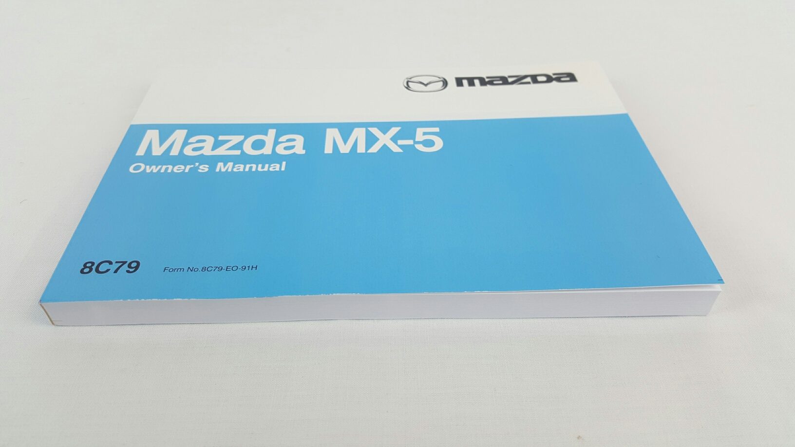 new genuine mazda mx 5 na owners manual mx5 1989 1993 8c79 eo 91h rh ebay com au Mazda Mx5 Nc Mazda MX-5 ND