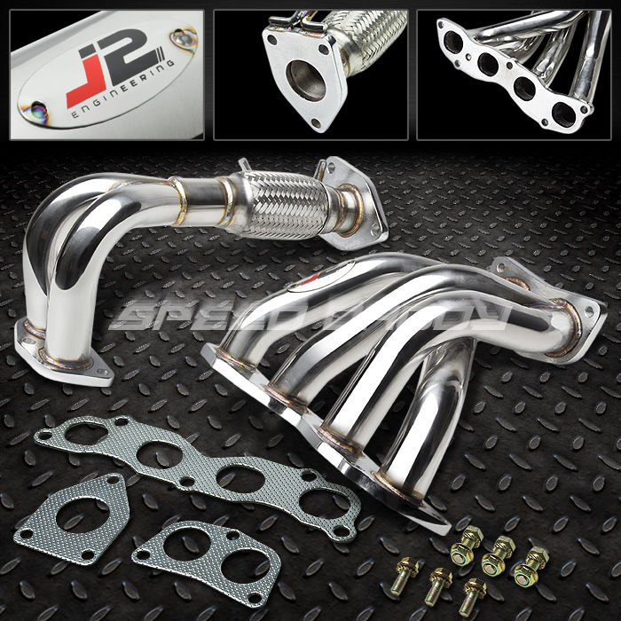 J2 STAINLESS STEEL RACING MANIFOLD HEADEREXHAUST 0408 ACURA TSX