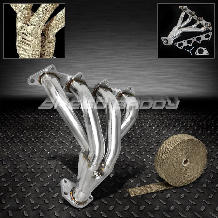 OBX Car Manifold for 00-05 Mitsubishi Eclipse 2.4L 4G64 RS GS Stainless Steel