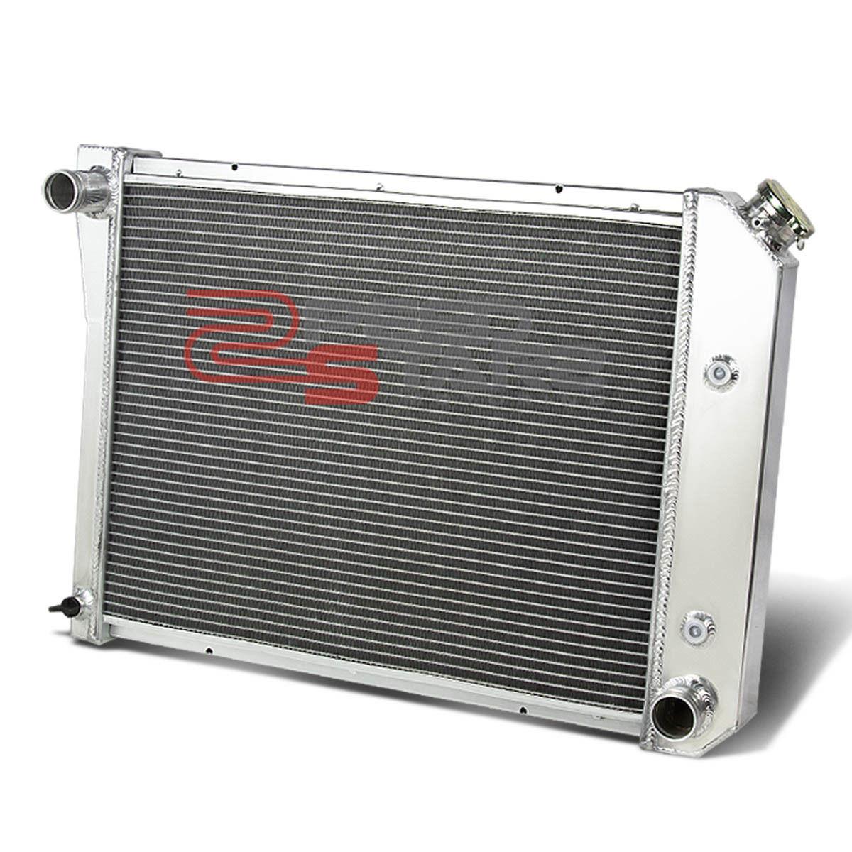 CHEVY//BUICK SMALL BLOCK V6 MANUAL 3//THREE ROW//CORE FULL ALUMINUM RACING RADIATOR