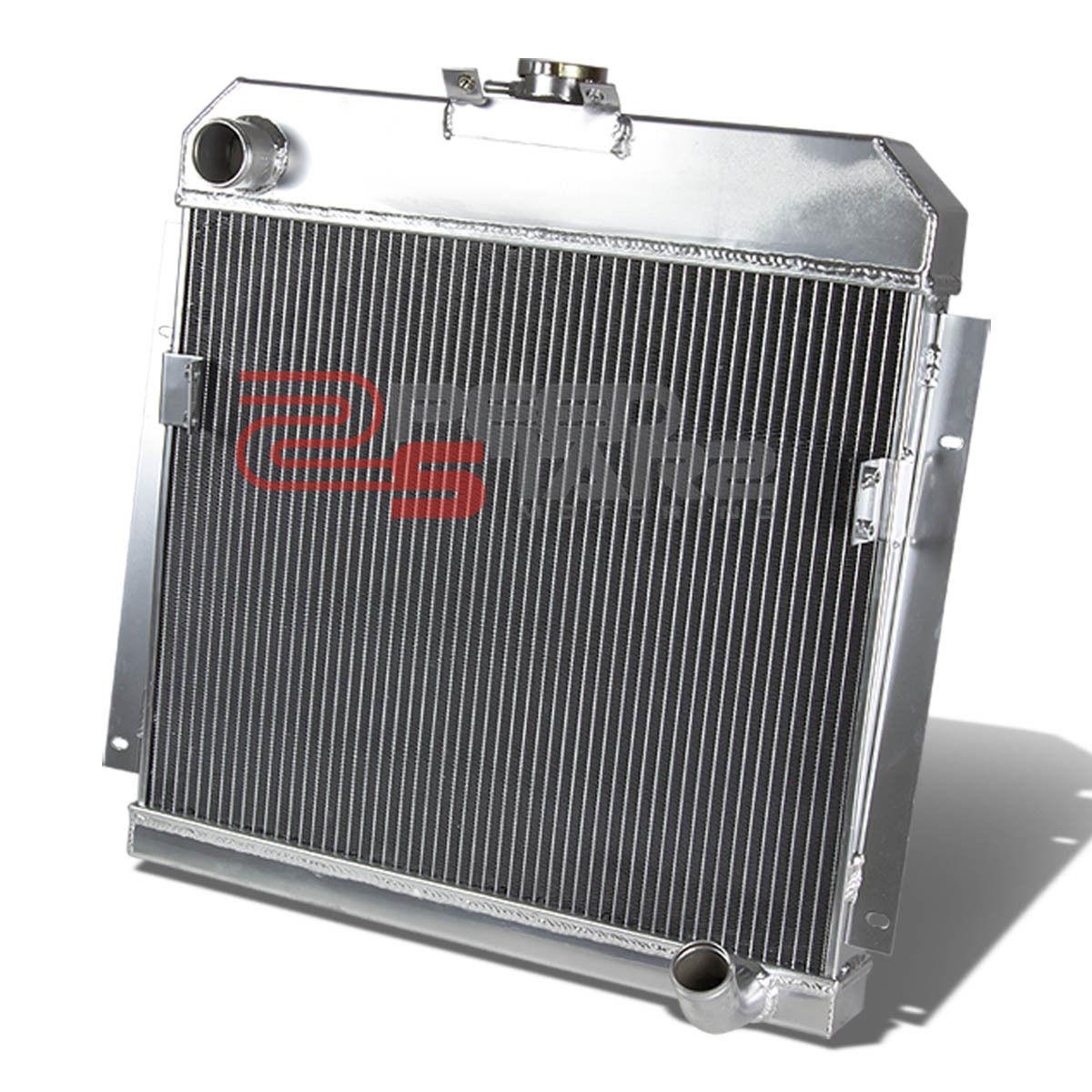 TRI Core High Capacity Race Aluminum Radiator Kit For Chevy 47-54 Truck L6 MT