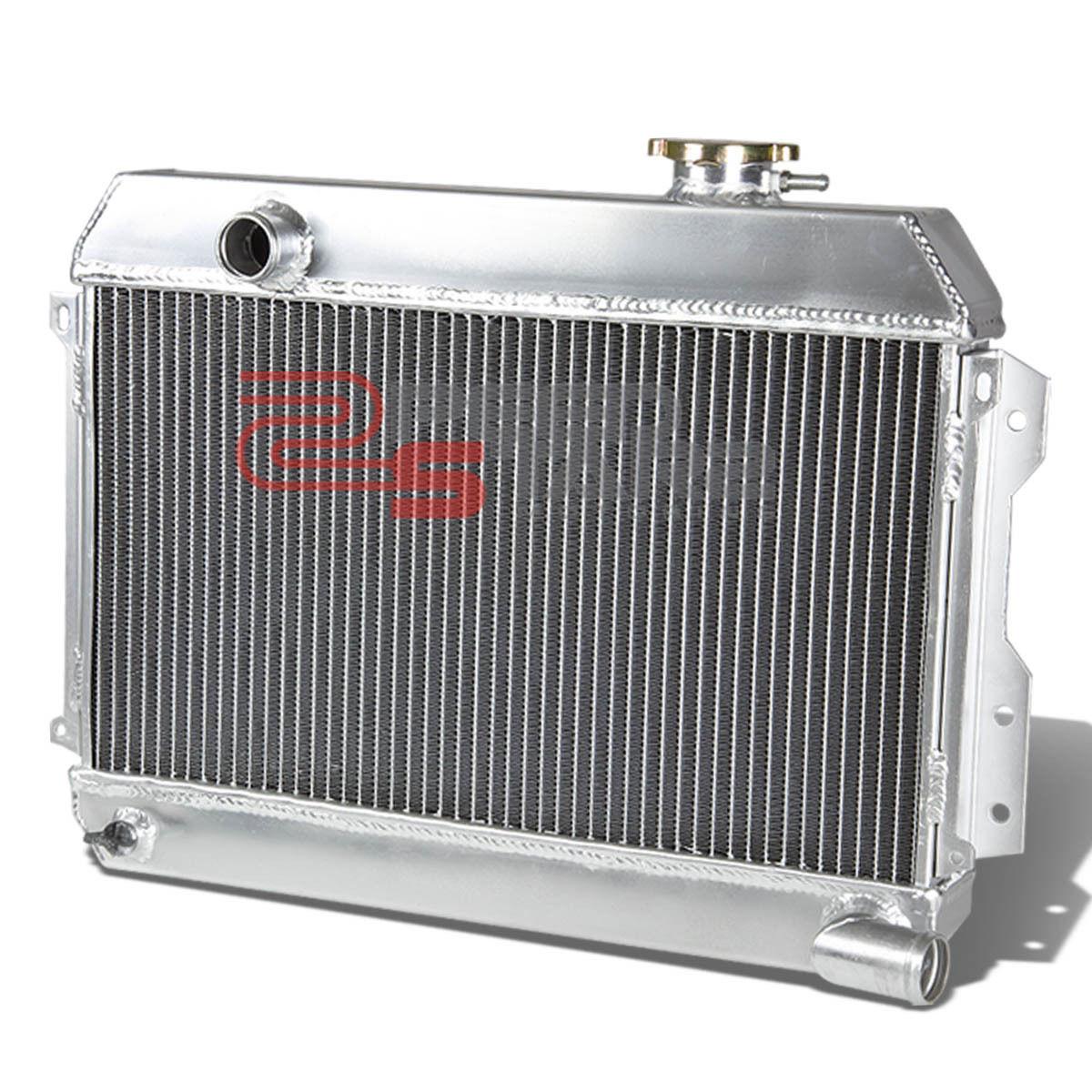 06-09 FOR CIVIC SI I-VTEC FG2//FA5 MANUAL 2//TWO//DUAL ROW//CORE ALUMINUM RADIATOR