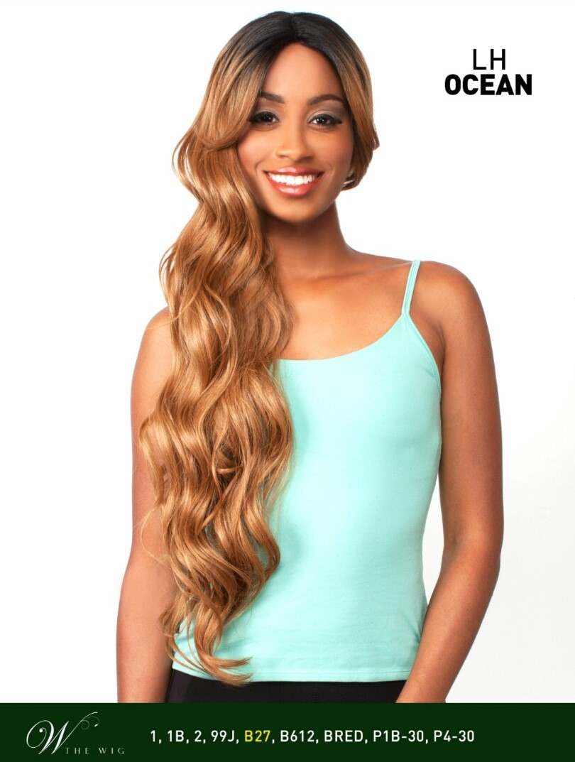 LH MAMA - THE WIG BRAZILIAN HUMAN HAIR BLEND INVISIBLE