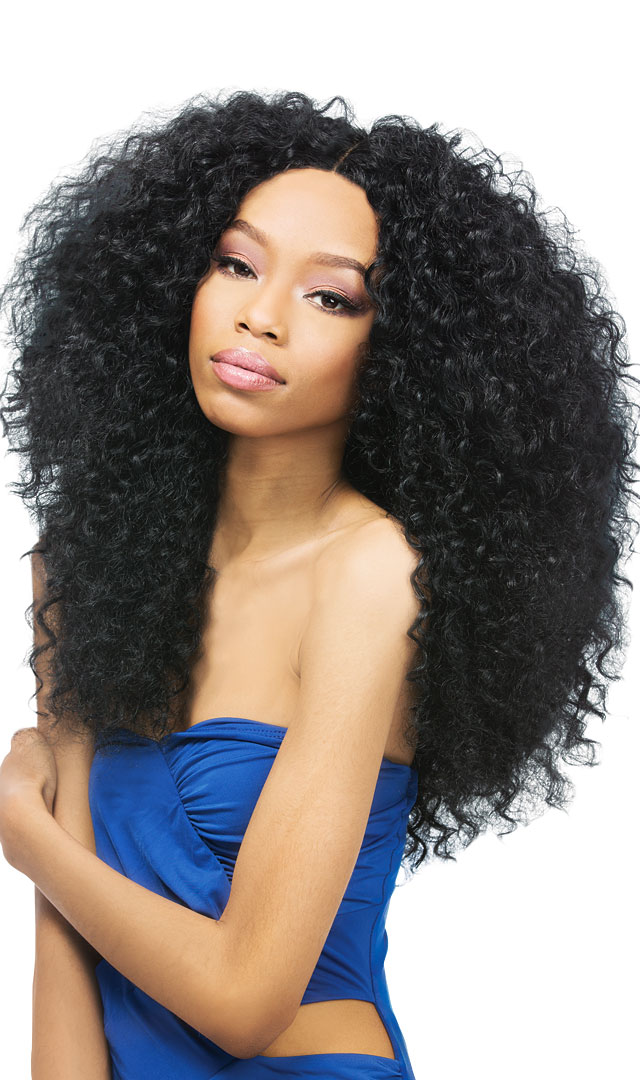 Dominican Curly 5pcs Outre Batik Duo Bundle Hair Synthetic Weave