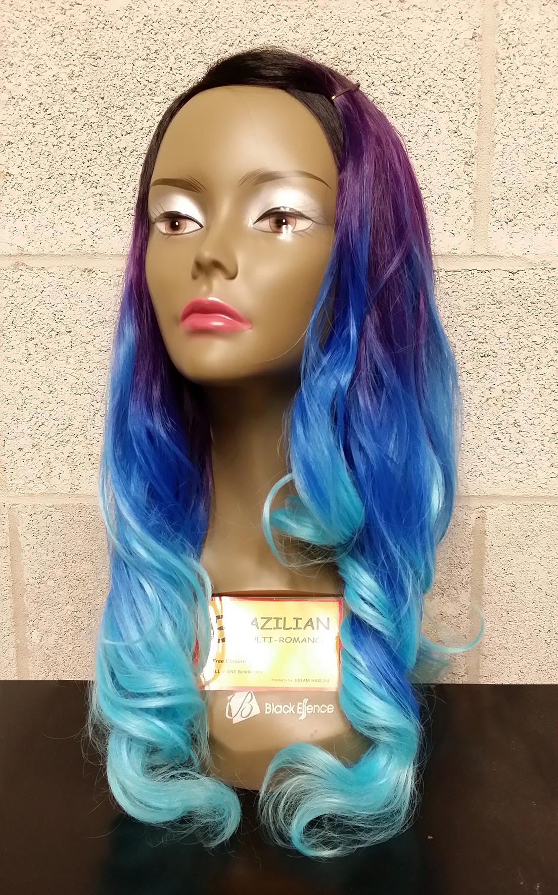 Brazilian Multi Romance 141618 Dream Hair Human Blended