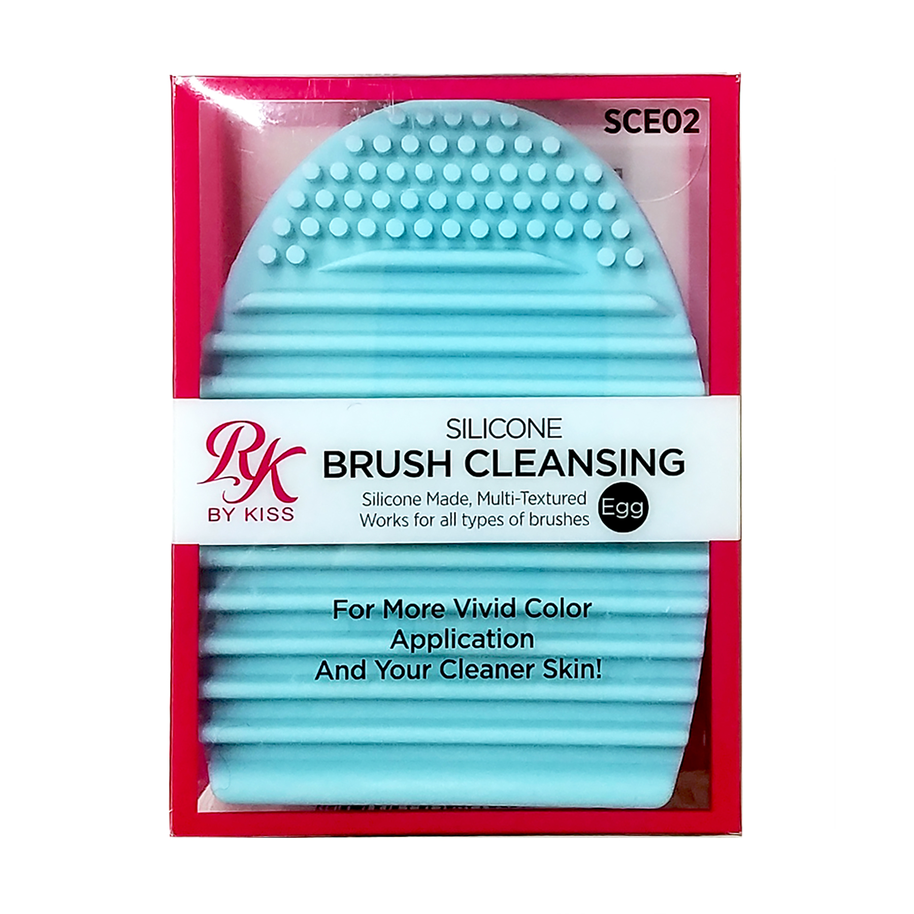 Ruby Kisses Silicone Makeup Brush Cleansing Egg Palette