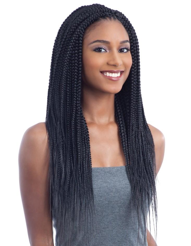 2x Pre Stretched Nigerian Braid 20 Freetresssynthetic Crochet