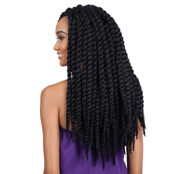 Jamaican Twists Hairstyles: FREETRESS CROCHET SYNTHETIC