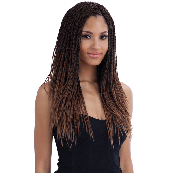 Micro Senegalese Twist Freetress Bulk Crochet Braiding Hair