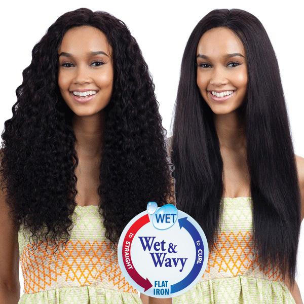 Shake N Go Unprocessed 100 Human Hair Weave 9w Deep Wave Indian