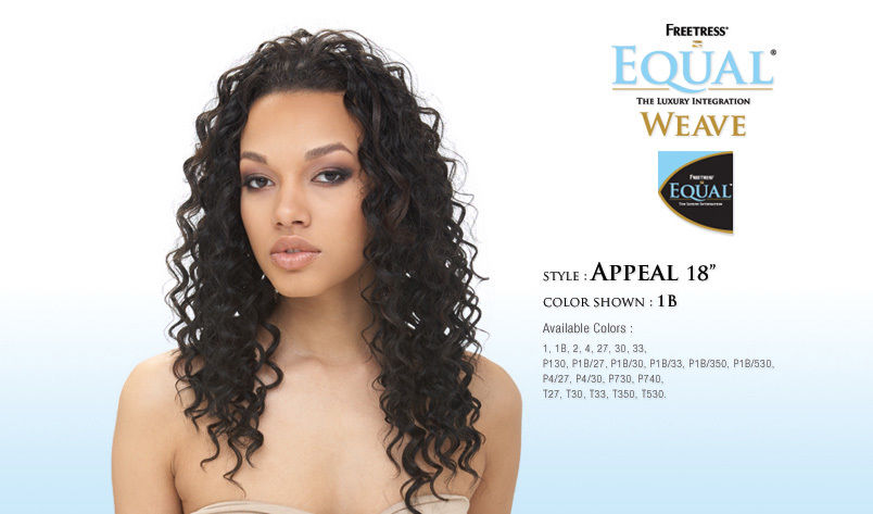Appeal 18 Equal Freetress Synthetic Weave Extension Hair Ebay