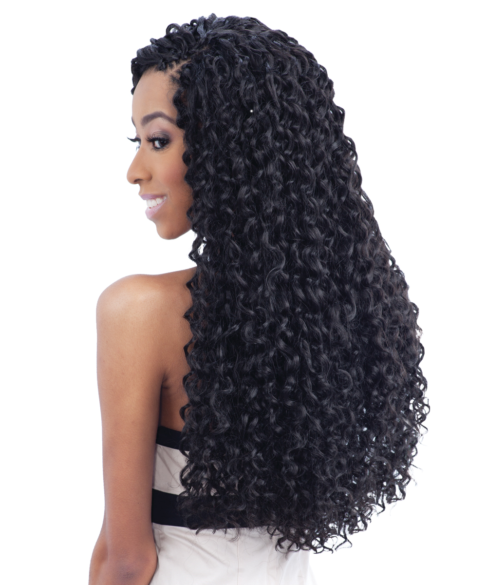 Groovy Barbadian Braid Freetress Bulk Crochet Braiding Hair Extension Short Hairstyles For Black Women Fulllsitofus