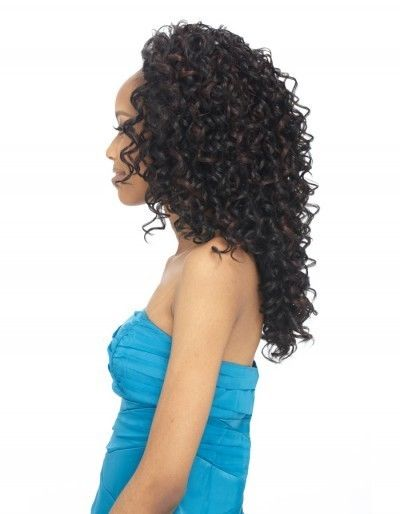 styling synthetic hair outre weave synthetic hair half wig 8297