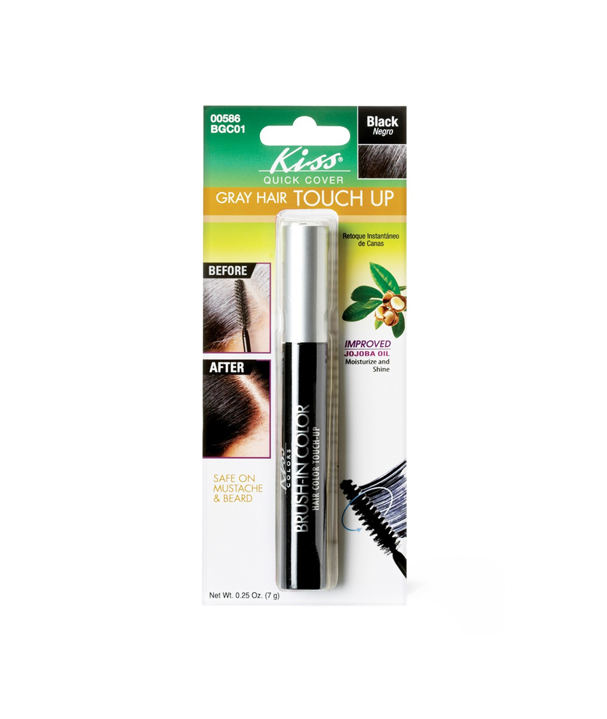 KISS-QUICK-COVER-GRAY-HAIR-TOUCH-UP-BRUSH-BGC-0-25OZ-TEMPORARY-COLOR-DYE