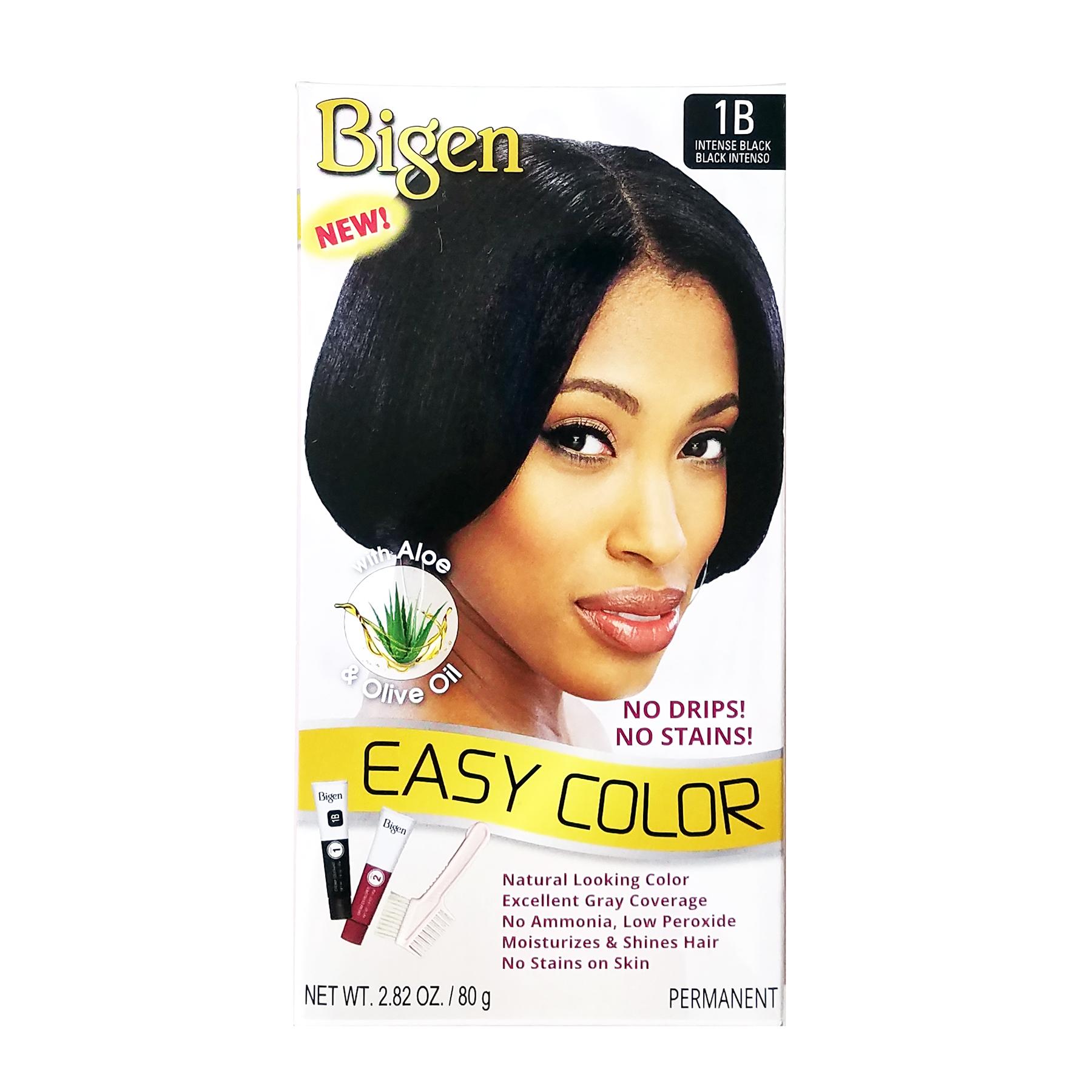 Bigen Easy Color Long Lasting Permanent Hair Dye Gray Covers 282oz