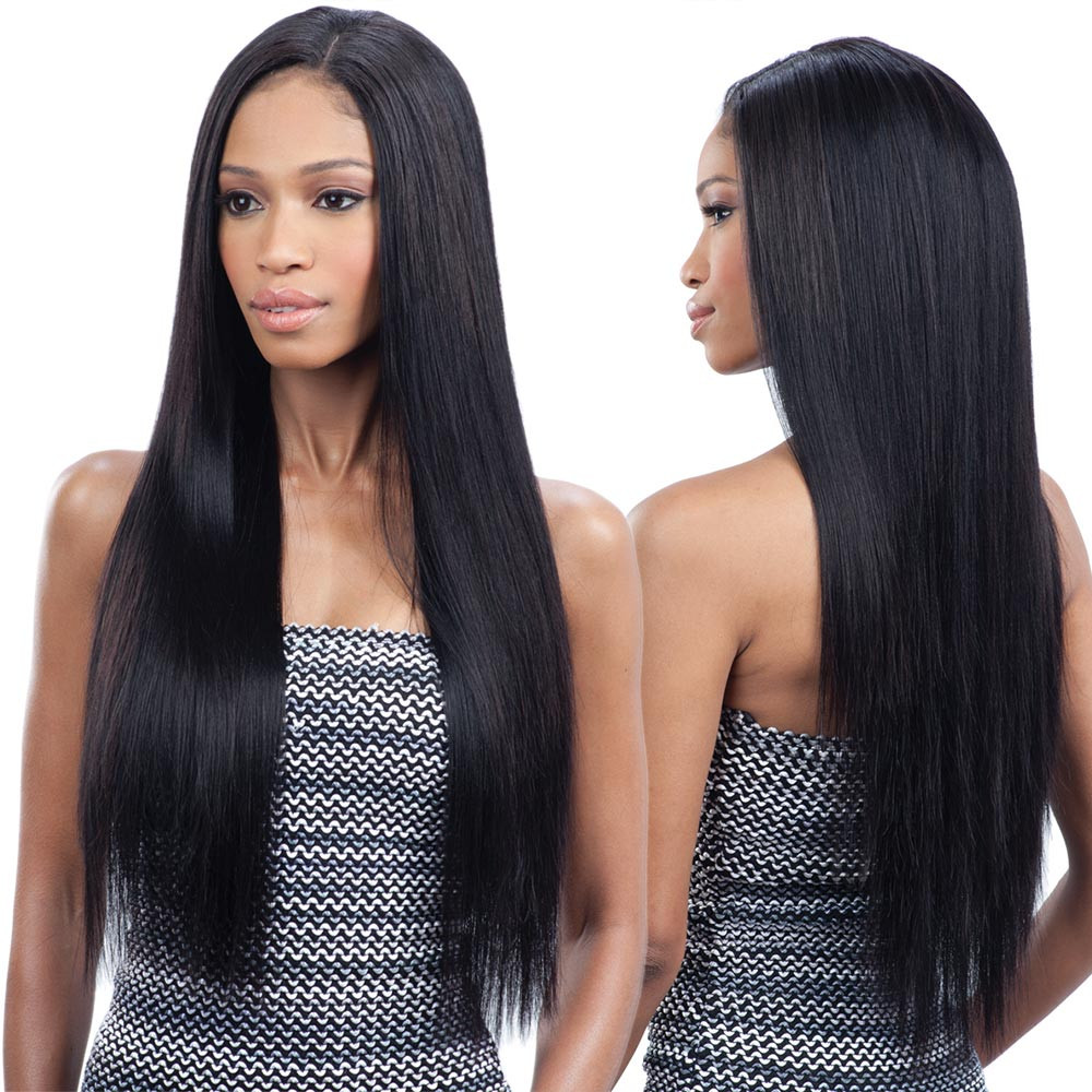 "naked unprocessed brazilian remy hair weave 18""20""22"" - brazilian"