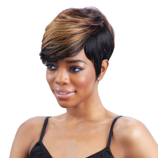 Charlie Freetress Equal Synthetic Full Wig Short