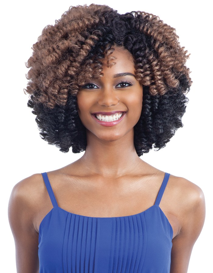 2x Weezy Curl Freetress Synthetic Hair Wand Curl Crochet Braid Ebay