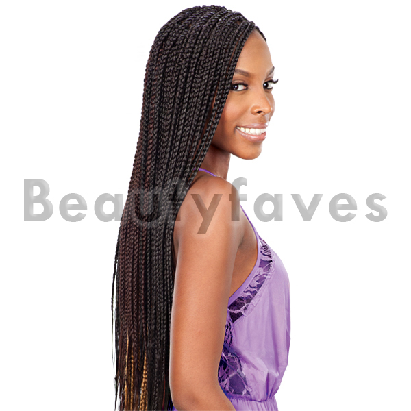 Large Box Braids Freetress Synthetic Bulk Crochet Braiding Hair