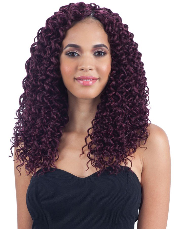 """*4-Pack/6-Pack* BEACH CURL 12"""" - FREETRESS SYNTHETIC BRAID ... - photo #39"""